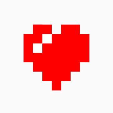 Pixel Heart by GlacialisAnima