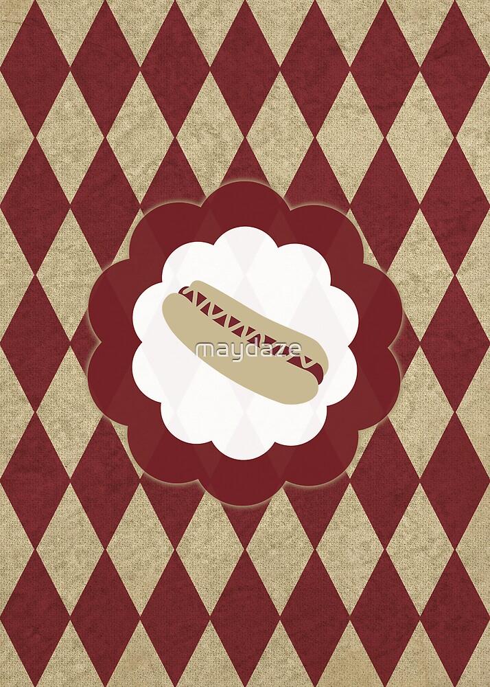 hot dog diamonds by maydaze