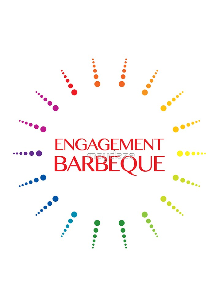 engagement barbeque by maydaze