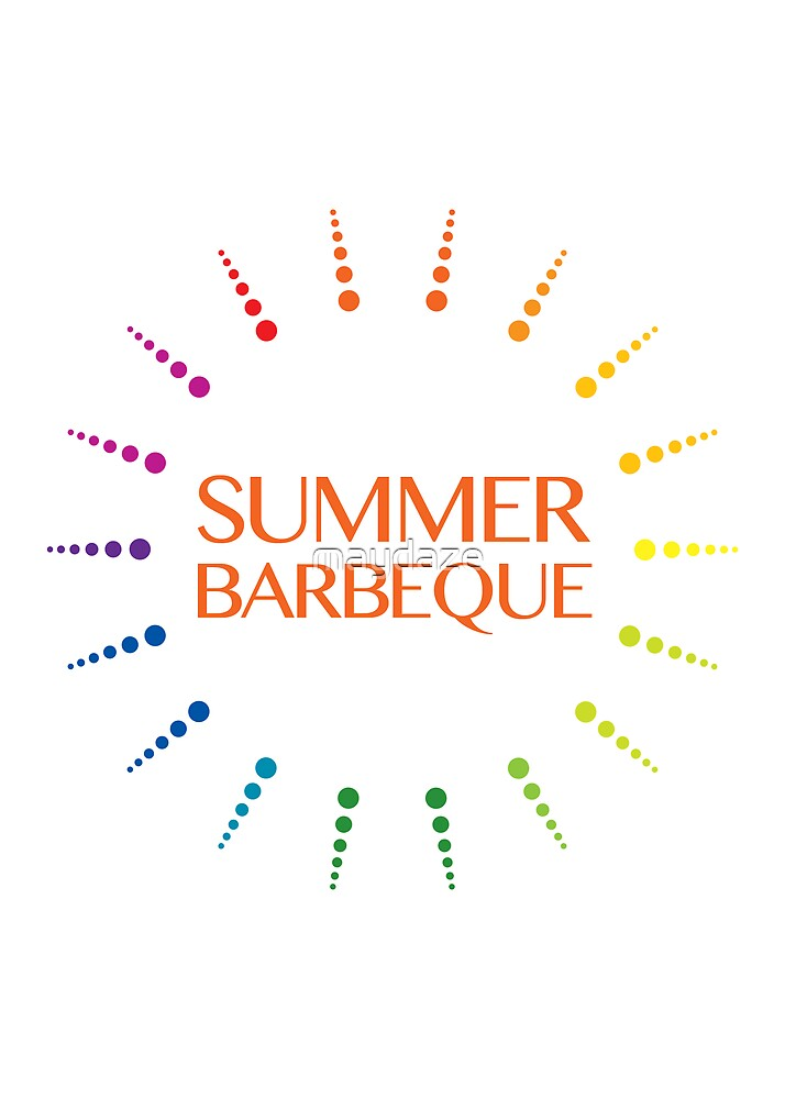 summer barbeque by maydaze