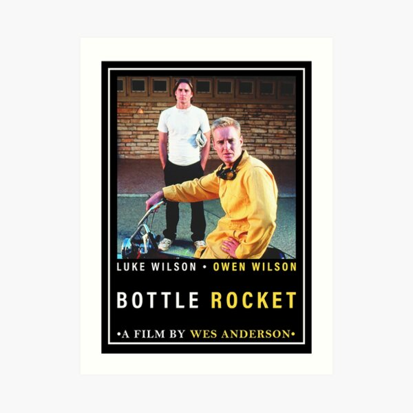 Bottle Rocket Poster Art Print