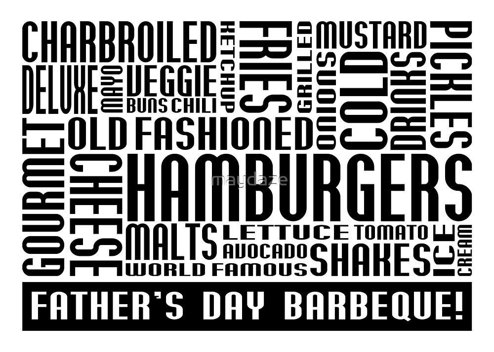 father's day barbeque by maydaze