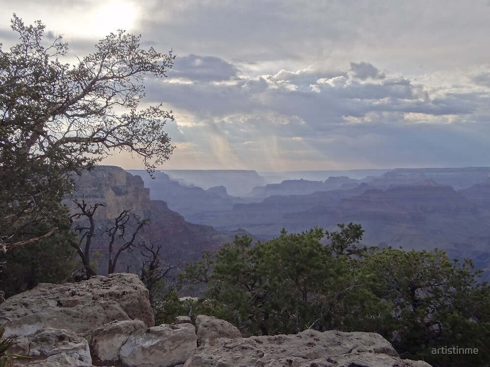 Grand Canyon at dusk by artistinme
