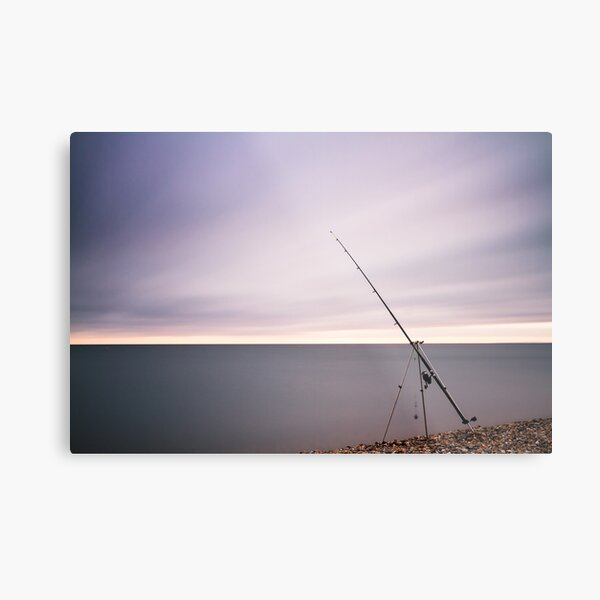 5 minutes and no catch Metal Print