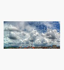 ©HCS To Much Clouds HDR Photographic Print