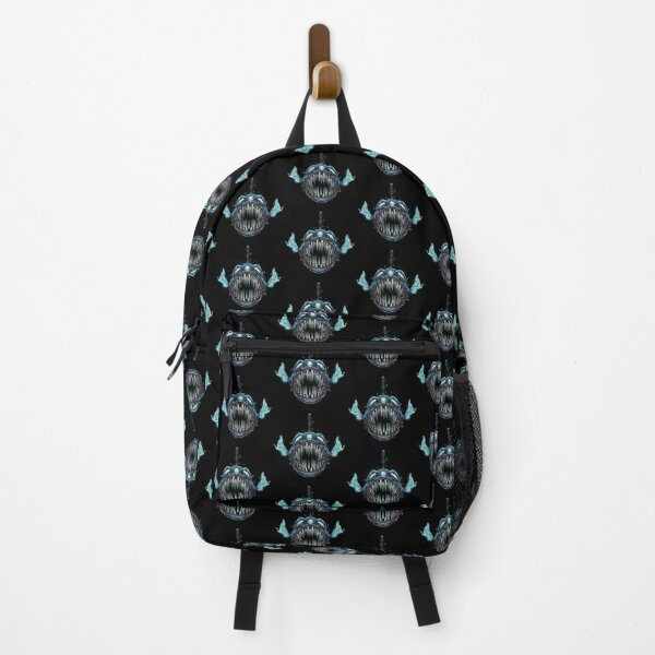 Predator Fish With Blue Light Color Backpack