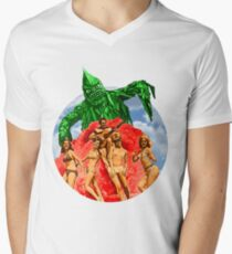 Beach Girls and the Monster Men's V-Neck T-Shirt