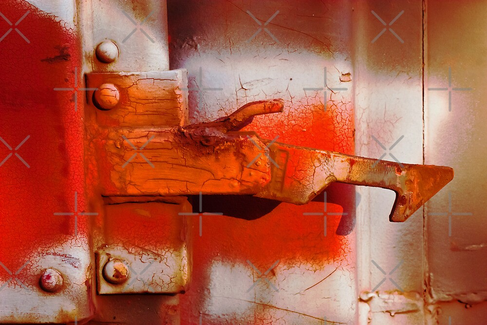 Orange Latch by Lisa Putman
