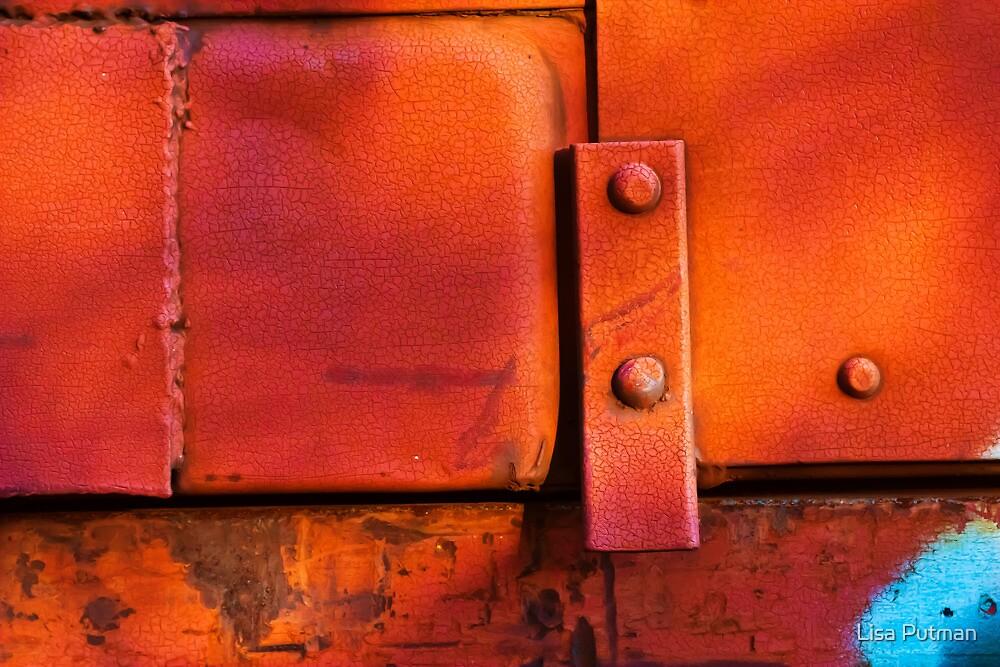 Orange Tilt by Lisa Putman