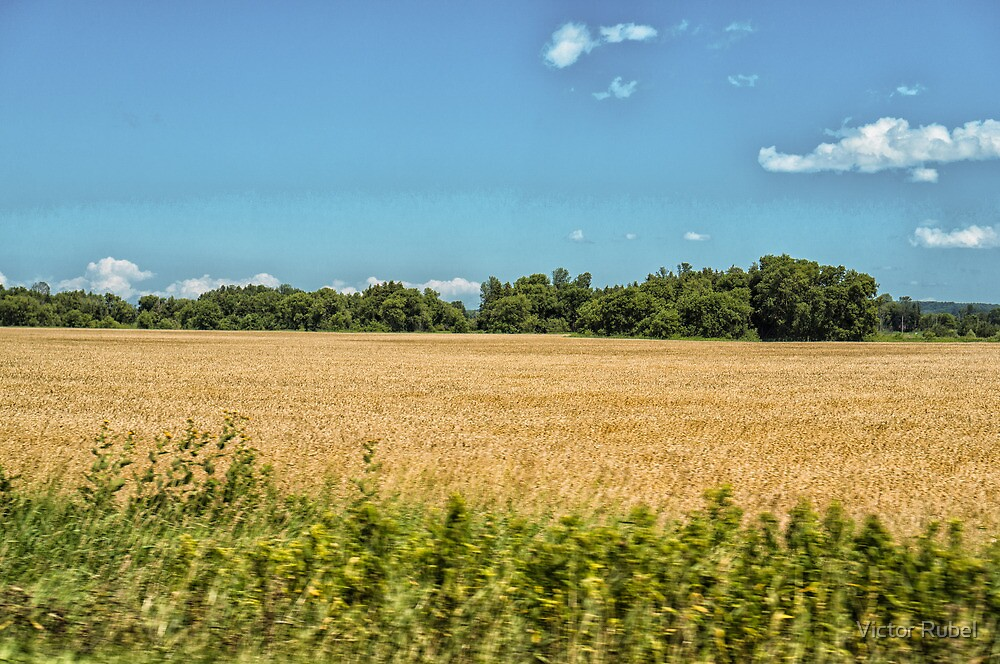 Somewhere on Hwy 27 - 2 by Victor Rubel