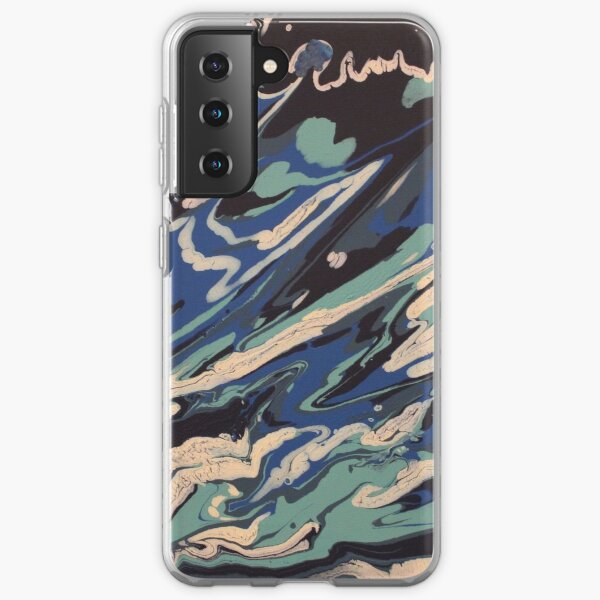 Wishy Washy Painting 2 Samsung Galaxy Soft Case