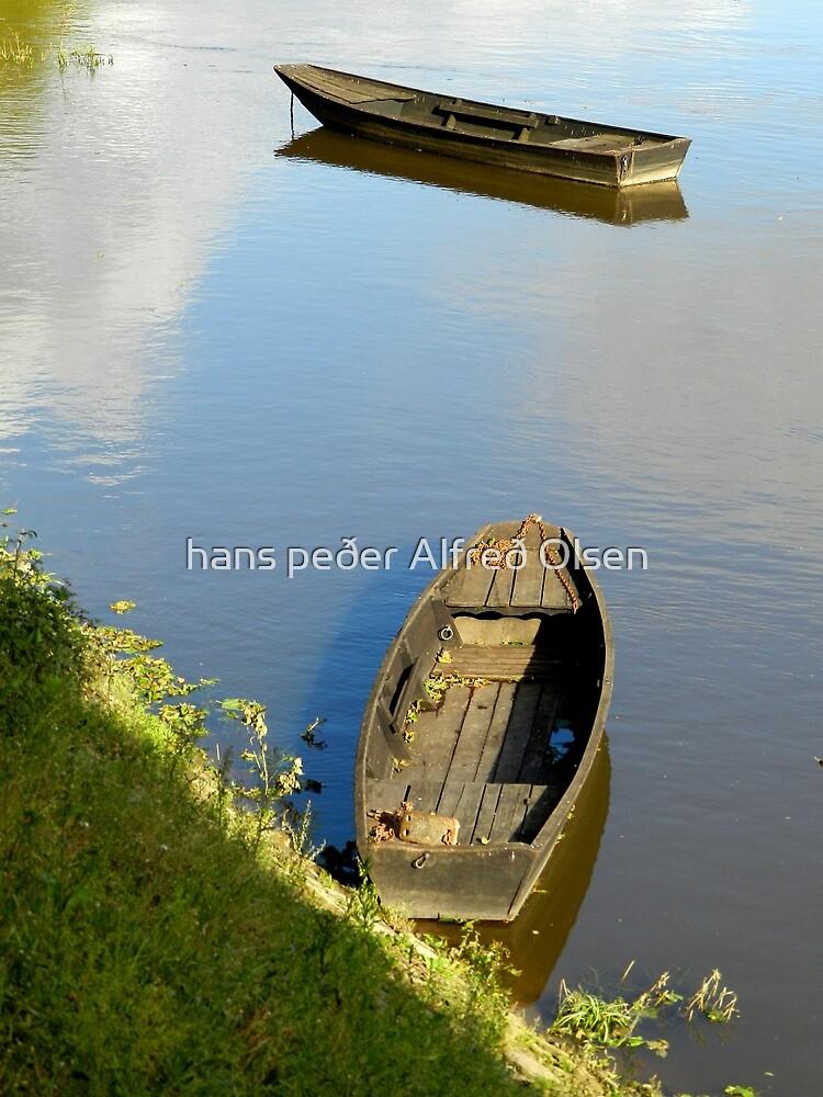 River Vienne punts by hans peðer alfreð olsen