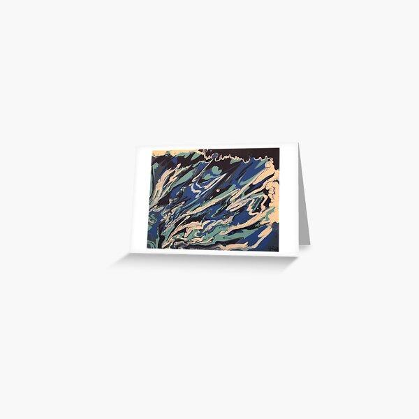 Wishy Washy Painting 2 Greeting Card