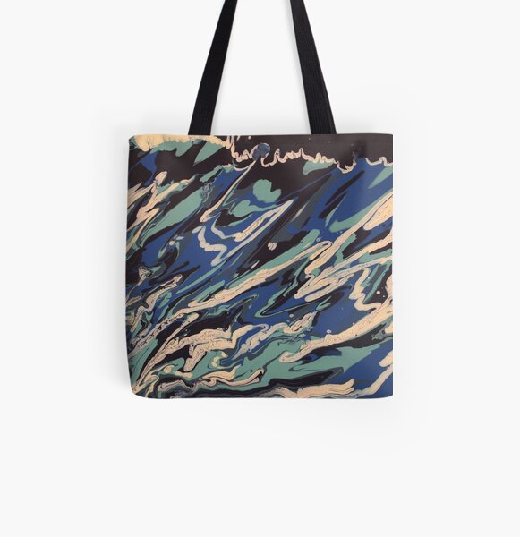 Wishy Washy Painting 2 All Over Print Tote Bag