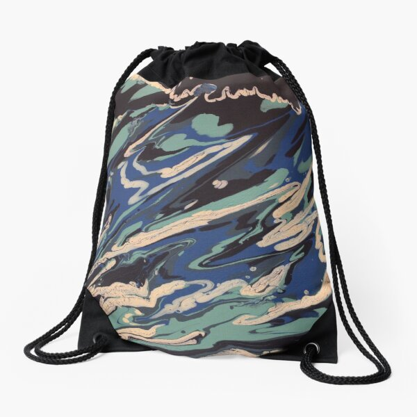 Wishy Washy Painting 2 Drawstring Bag