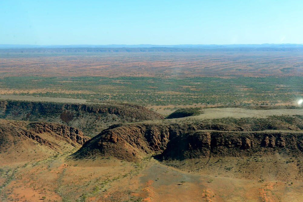Aerial View Before Alice Springs by styles