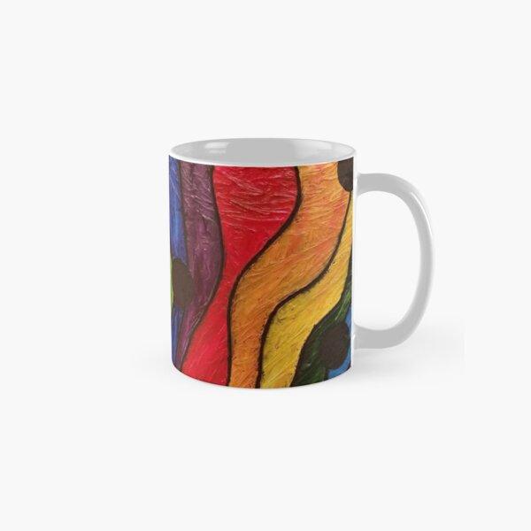 Rainbow Road Painting Classic Mug