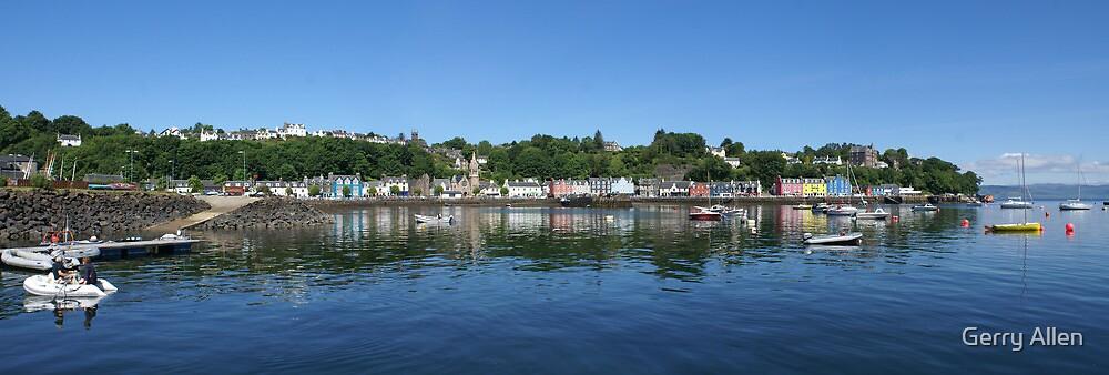 Tobermorary Harbour by Gerry Allen