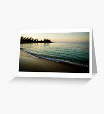 Ocean Dusk Greeting Card