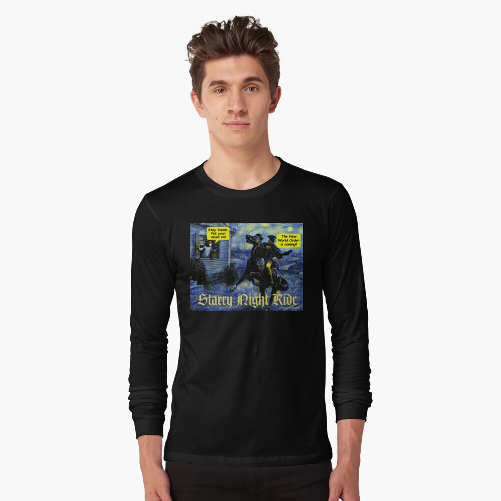 Starry Night Ride Long Sleeve T-Shirt