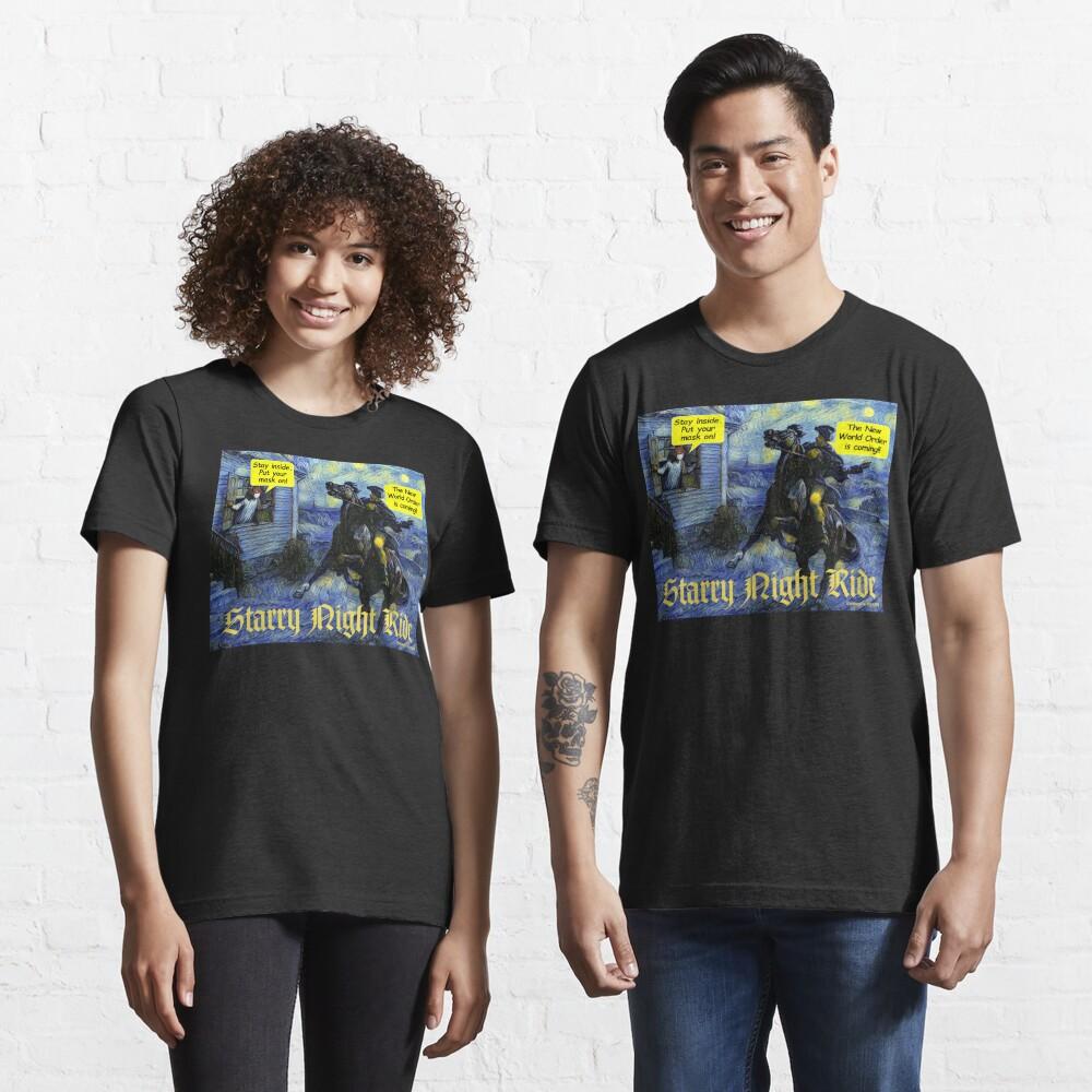 Starry Night Ride Essential T-Shirt