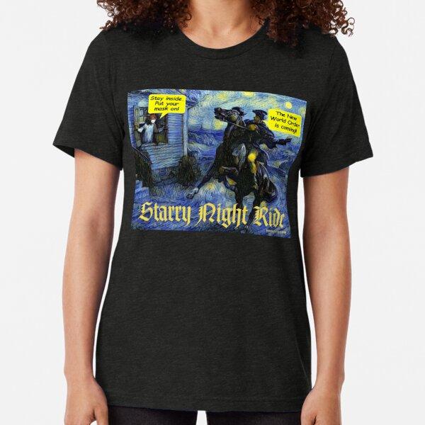 Starry Night Ride Tri-blend T-Shirt