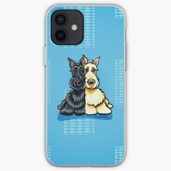 Two of a Kind Scotties iPhone Soft Case