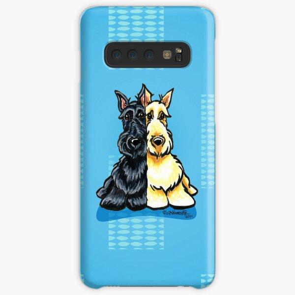 Scottie Dog 'Poppies' Samsung S10 Case