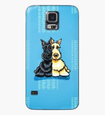 Two of a Kind Scotties Case/Skin for Samsung Galaxy
