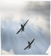 Spitfire and Hurricane Poster