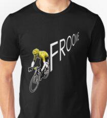 Chris Froome Tour de France 2013 Winner Sky Cycling Unisex T-Shirt