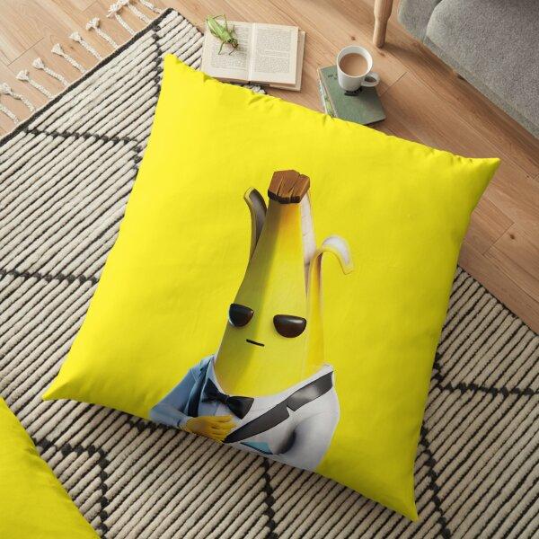 Peely banana love Floor Pillow