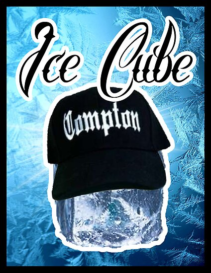 Ice Cube Poster by GraphicLife