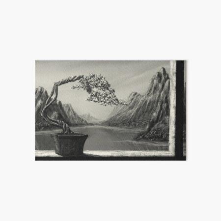 Bonsai 1 Art Board Print