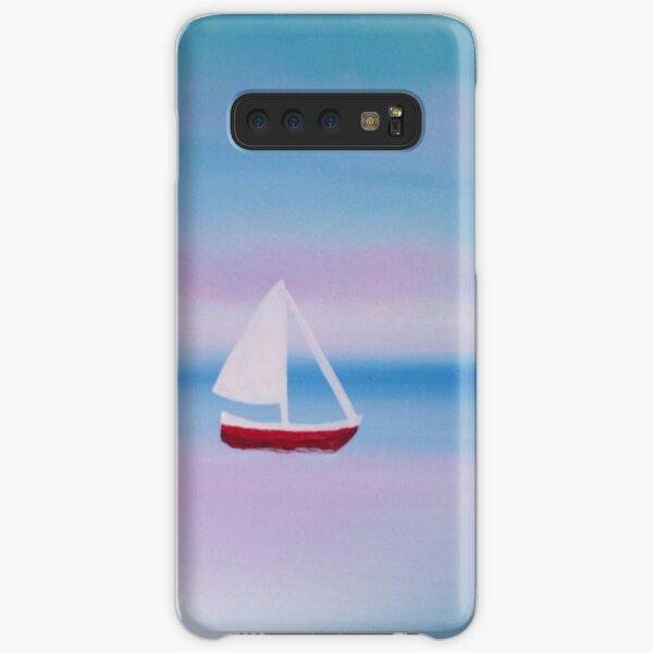 Sailboat Painting Samsung Galaxy Snap Case