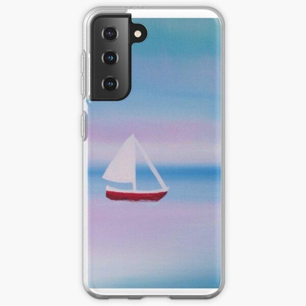 Sailboat Painting Samsung Galaxy Soft Case