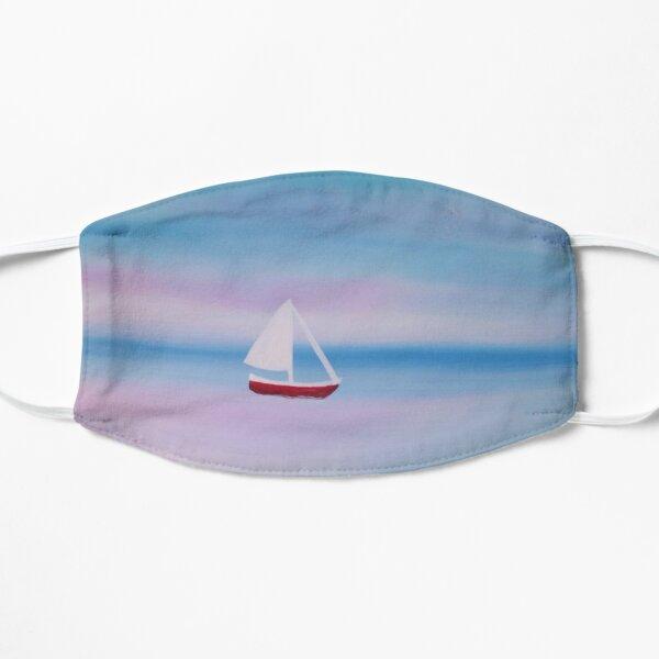 Sailboat Painting Flat Mask
