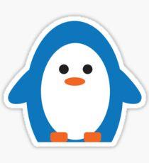 Peddler Penguin Sticker