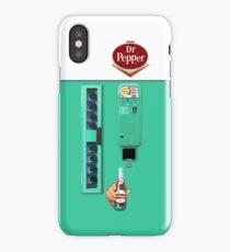 Vintage Dr. Pepper Vending Machine iPhone Case
