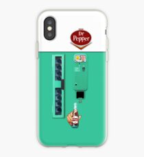 Vintage Dr. Pepper Vending Machine iPhone Case