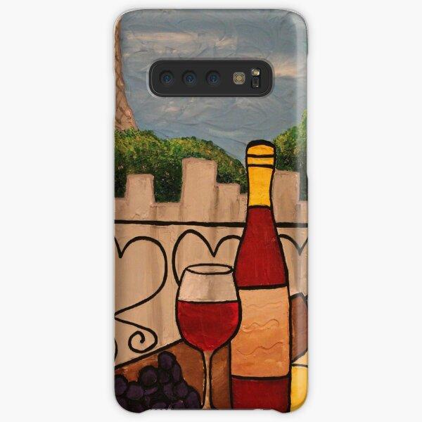 Wine on the Balcony Samsung Galaxy Snap Case
