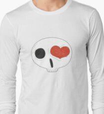 heart eyed skull... Long Sleeve T-Shirt
