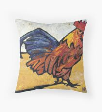 Rules the Roost Throw Pillow