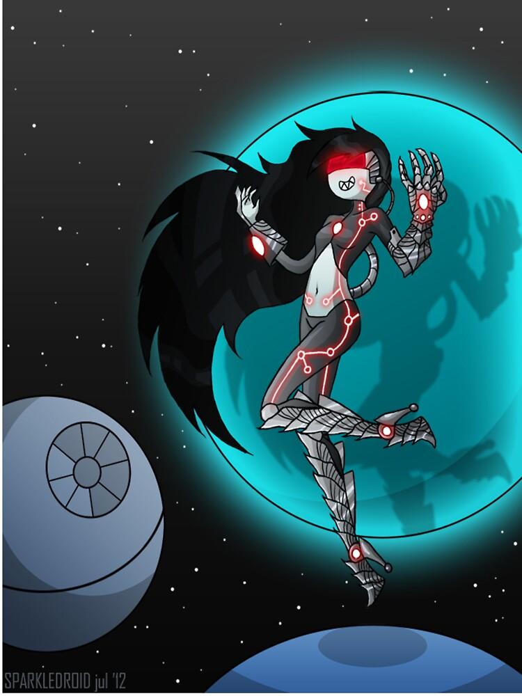 Cyborg Marceline by gwendellin