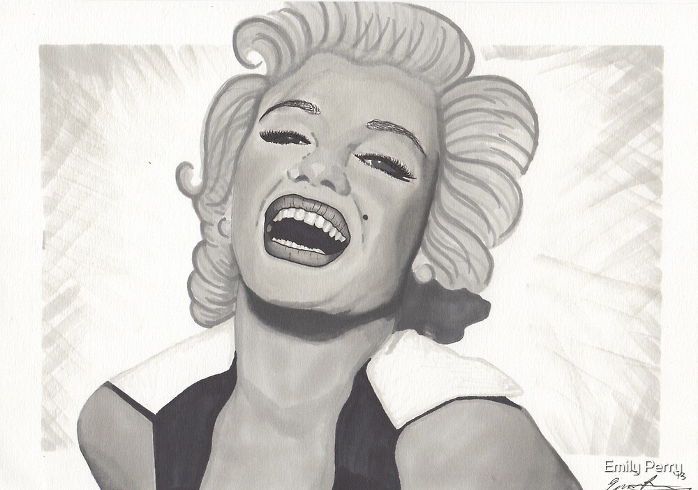 Marilyn Monroe by Emily Perry