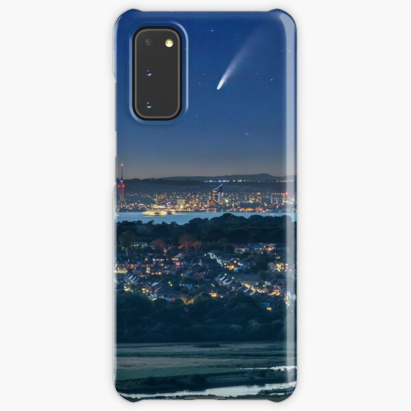 Comet Neowise Over Portsmouth  Samsung Galaxy Snap Case