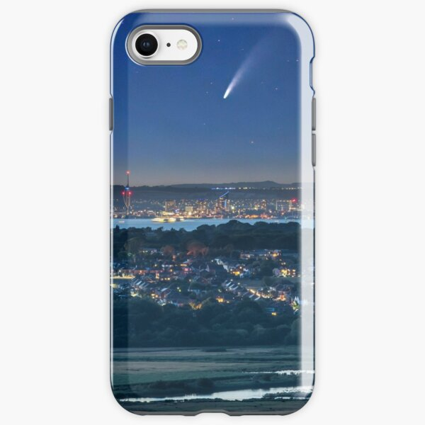 Comet Neowise Over Portsmouth  iPhone Tough Case