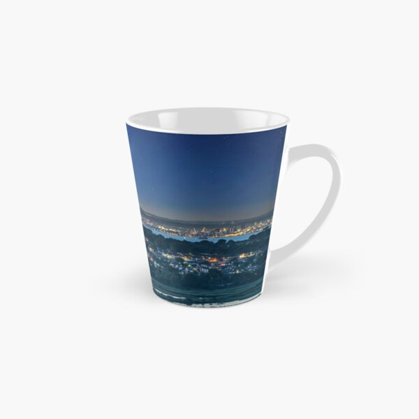 Comet Neowise Over Portsmouth  Tall Mug