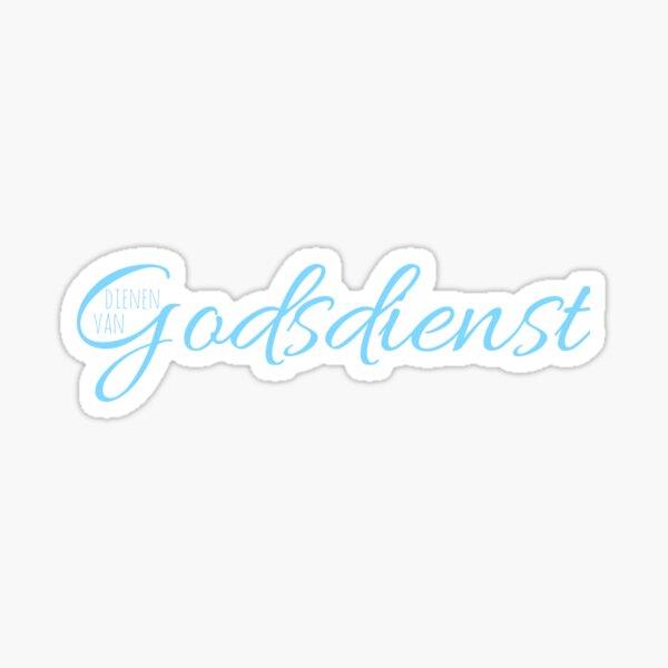 Dienen van Godsdienst Sticker