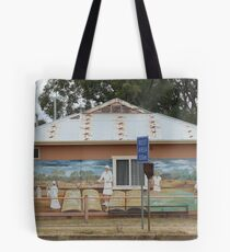 Mural, Mendooran Tote Bag